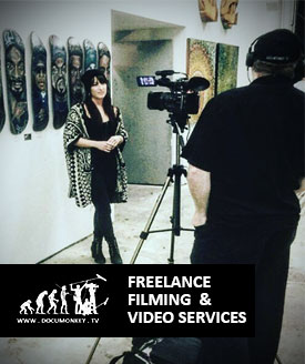 Documonkey TV Freelance Videography Services
